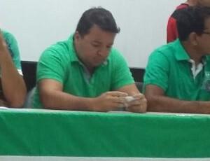 Novo presidente do Nacional de Patos, Alisson Nunes (Foto: Divulgação)