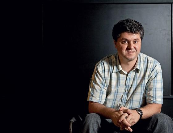 Ricardo Lísias  escritor (Foto:   Eduardo Knapp/Folhapress)