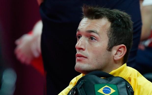 diego hypolito londres 2012 olimpíadas (Foto: AP)