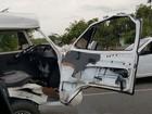 Acidente entre carro e Kombi na PE-90 deixa vários feridos