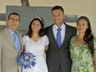 Com pai internado, filha faz ensaio fotográfico de casamento em hospital
