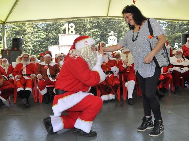 'Papai Noel' Jocemar e Ivânia estão juntos há 28 anos (Foto: Halder Ramos/Divulgação)