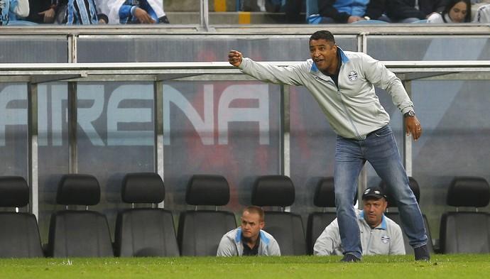 Grêmio x Sport Arena grêmio Roger Machado Arena do Grêmio (Foto: Lucas Uebel/Grêmio)