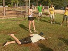 Matrícula na USP de São Carlos tem banho de mangueira e brincadeiras