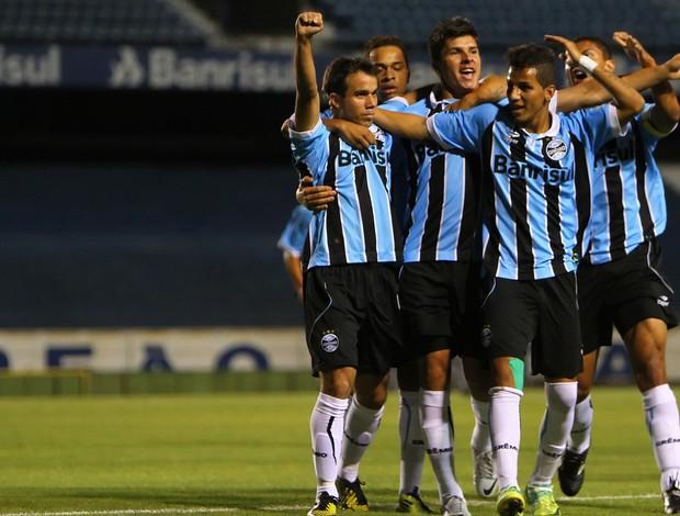 Grêmio vence o Fluminense pela Copa do Brasil sub-20 (Foto: Lucas Uebel / Grêmio, DVG)