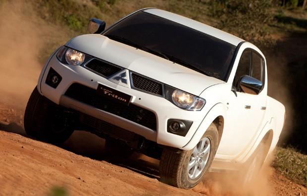 Mitsubishi L200 Triton 2011 (Foto: Divulgação)