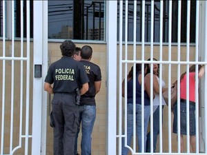 Operação Terra Prometida deve prender 52 pessoas por fraude em MT, SC, PR e RS (Foto: Reprodução/TVCA)