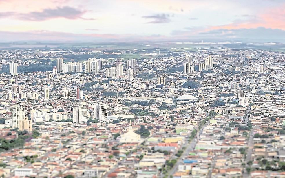 Anápolis é a cidade que teve o maior número de estabelecimentos fechados (Foto: Divulgação)