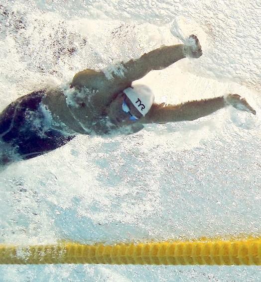 natação  ao vivo (Michael Dalder/Reuters)
