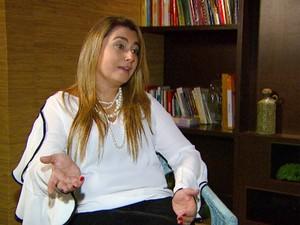Fabíola Lencastre, especialista em recursos humanos de Campinas (Foto: Reprodução / EPTV)