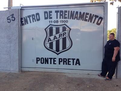 Ponte Preta CT Jardim Eulina (Foto: Caio Maciel / EPTV)