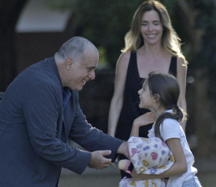 Será que os três vão conseguir fugir? (Foto: TV Globo)