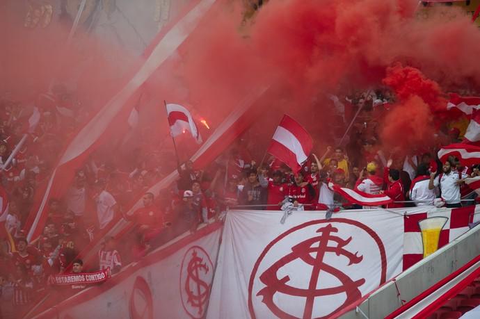 Internacional treino Inter Beira-Rio torcida Inter (Foto: Alexandre Lops/Internacional)