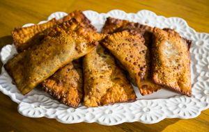 Pastel de feijão: receita da Carolina Ferraz