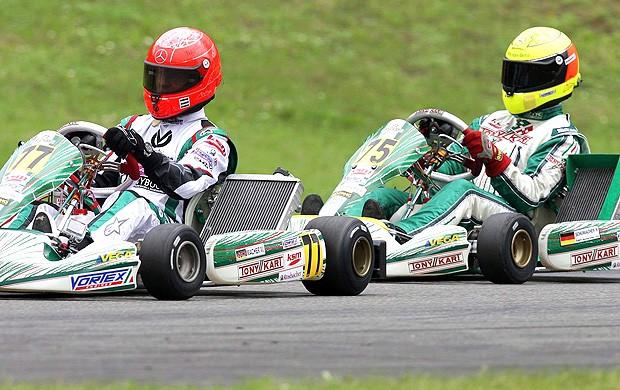 schumacher ralf kart club na cidade Kerpen Alemanha (Foto: Agência EFE)