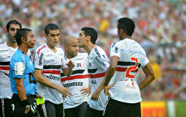 Náutico x Santa Cruz (Foto: Aldo Carneiro/Pernambuco Press)