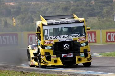 Felipe Giaffone assume a pole na etapa Campo Grande da Fórmula Truck (Foto: Divulgação/Fórmula Truck)