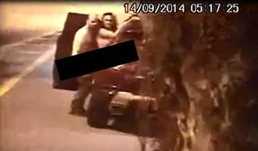 Vídeo polêmico que caiu na internet envolvendo Viviane Araújo (Foto: Reprodução)