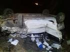 Estudantes ficam feridos após carro capotar sete vezes na BR-153