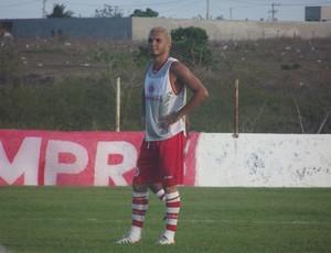 Jérson, ex-ABC, vestirá a camisa do América-RN em 2013 (Foto: Tiago Menezes/GLOBOESPORTE.COM)