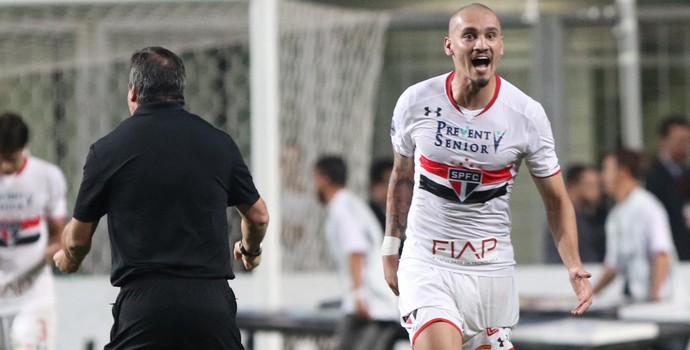Maicon São Paulo Atlético-MG x São Paulo (Foto: Rubens Chiri/saopaulofc.net)