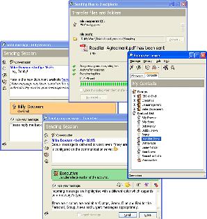 Interface Bopup Messenger