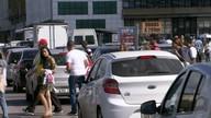Protesto deixa trânsito caótico em Brasília