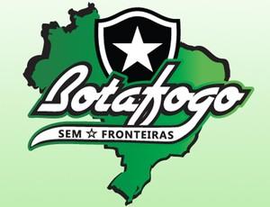 Botafogo Sem fronteiras (Foto: Arte Pedro Padilha)