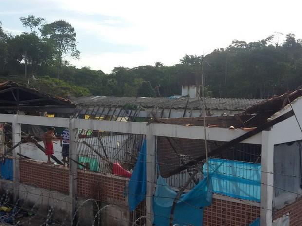 Segundo a Susipe, 93 internos estavam custodiados no pavilhão 4 (Foto: Divulgação/Susipe)
