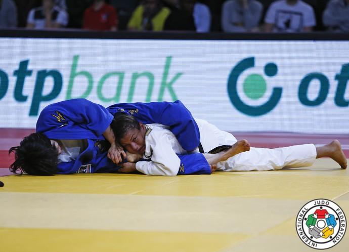 Sarah Menezes bronze Grand Slam de judô de Paris (Foto: IJF Media by G. Sabau)