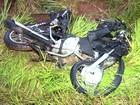 Homem morre em acidente de moto em vicinal perto de Bilac
