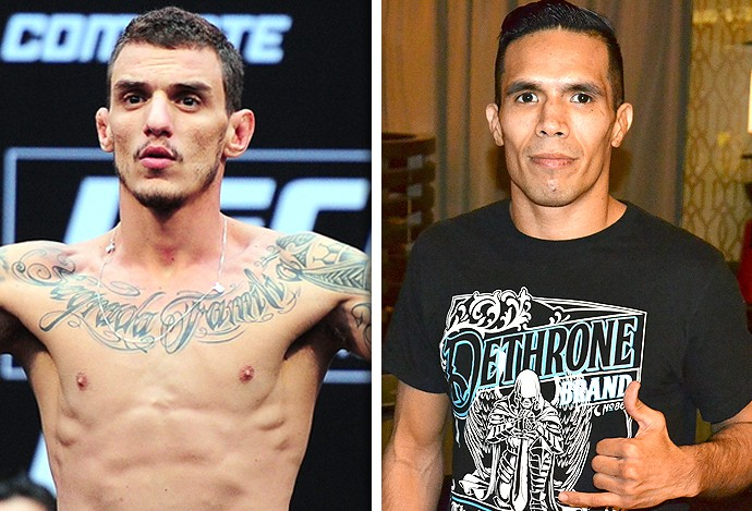 Montagem UFC Renato Moicano x Mike de La Torre (Foto: Editoria de Arte)