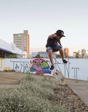 Arthur Strauss skatista Ribeirão Preto (Foto: Arthur Strauss / Arquivo Pessoal)