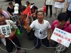 Familiares de passageiros chineses do MH370 querem ir à Ilha Reunião