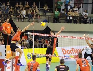 Sesi x Campinas, Superliga masculina (Foto: Karen Griz/Divulgação Sesi-SP)