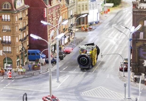 Miniatura do Street View em ação (Foto: Divulgação)