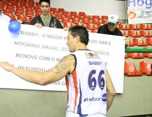 Bábby Mogi das Cruzes x Minas NBB (Foto: Vitor Geron)