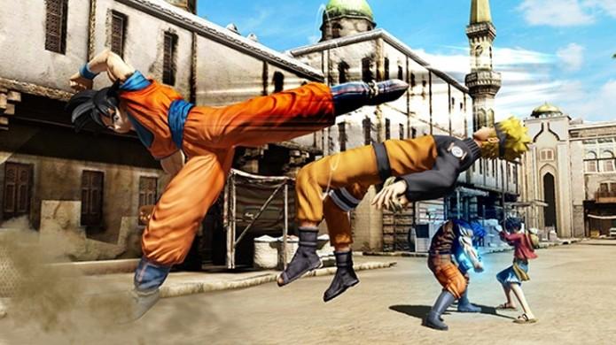 Lute ao lado de Goku, Naruto, Luffy, Seiya e muitos outros heróis japoneses (Foto: Gematsu)