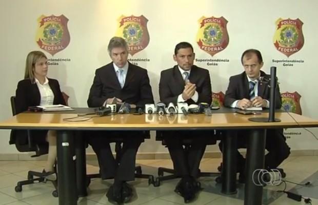 Polícia Federal investiga quadrilha que fraudava pagamento de prêmios de loteria em Goiânia, Goiás (Foto: Vitor Santana/G1)