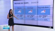 Confira a previsão do tempo para este fim de semana em Salvador