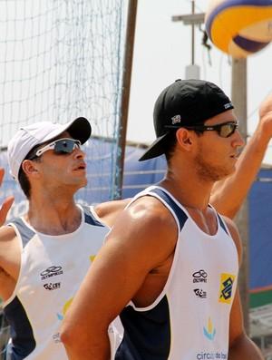 Fábio Guerra e Marcos Cabral disputam vaga no Circuito Brasileiro de Vôlei de Praia (Foto: Divulgação/CBV)