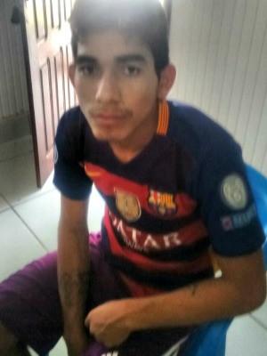Jovem confessou ter incendiado casa e disse que tinha mais alvos a mando de outra pessoa (Foto: Divulgação/Polícia Militar)