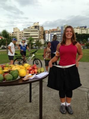 Adriana Machado perdeu dez quilos com o quadro Mexa-se com o Bom Dia (Foto: Divulgação)