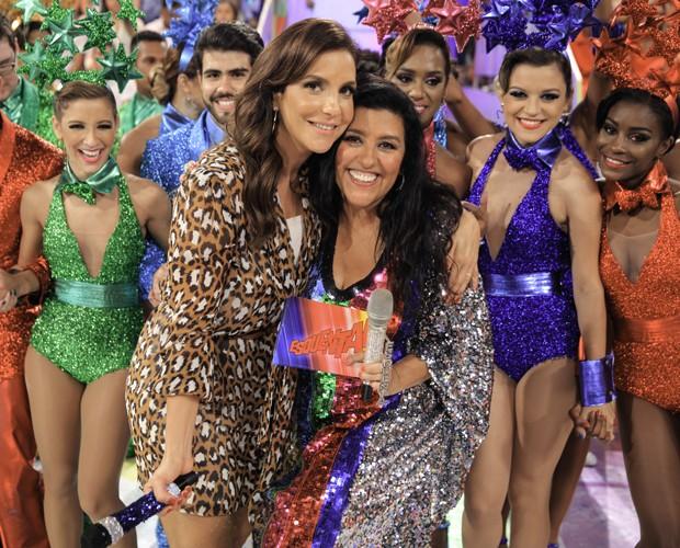 Ivete Sangalo dá show no Esquenta!  (Foto: João Pedro Januário / Globo)