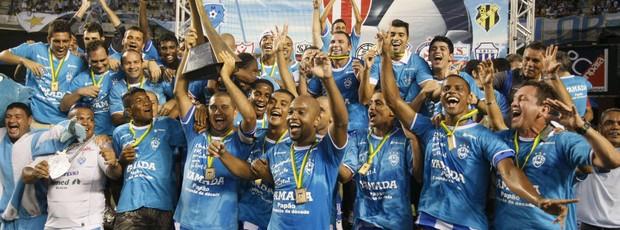 Última vez que a capital conquistou o Estadual foi em 2010, com o Paysandu (Foto: Marcelo Seabra/O Liberal)