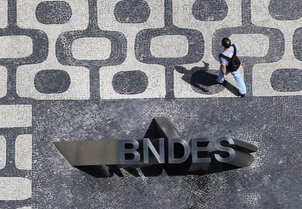 Sede do Banco Nacional de Desenvolvimento Econômico (BNDES) no Rio (Foto: Ueslei Marcelino/Reuters)