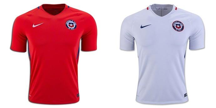 Camisa Chile Copa América Centenario