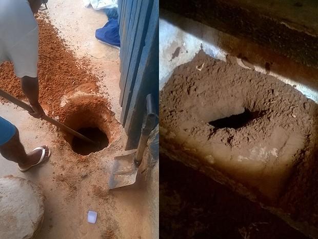 Os túneis foram encontrados nos pavilhões 1 e 2  (Foto: Divulgação)