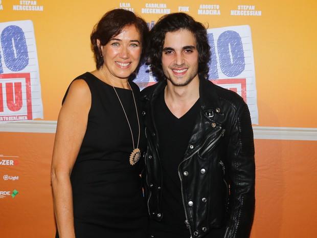 Lilia Cabral e Fiuk em pré-estreia de filme em São Paulo (Foto: Manuela Scarpa/ Foto Rio News)