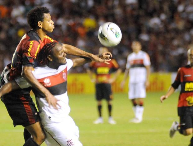 Vagner Love Flamengo x Sport (Foto: André Chaco / Vipcomm)